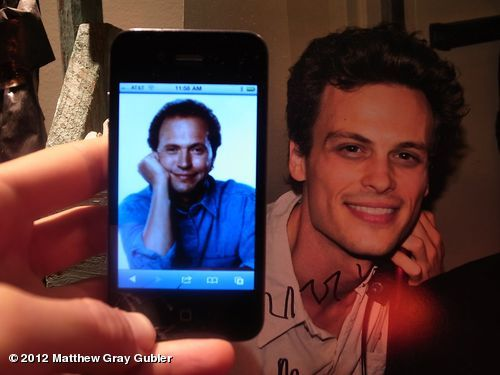 gublernation:  that moment when you realize you once had the exact same haircut as billy crystal View more Matthew Gray Gubler on WhoSay  iloveyou