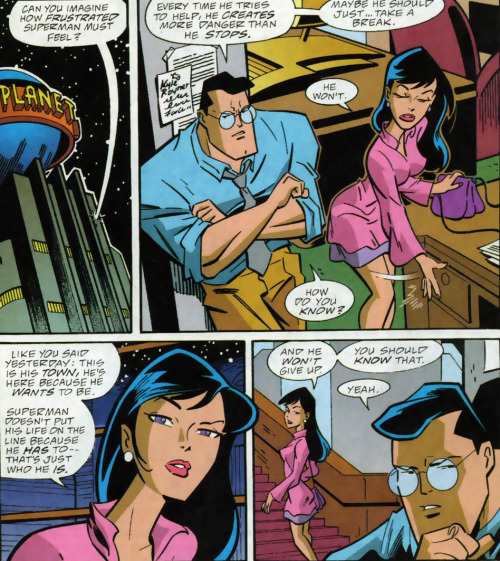 Lois Lane Panel of the Day: ~Superman Adventures #44