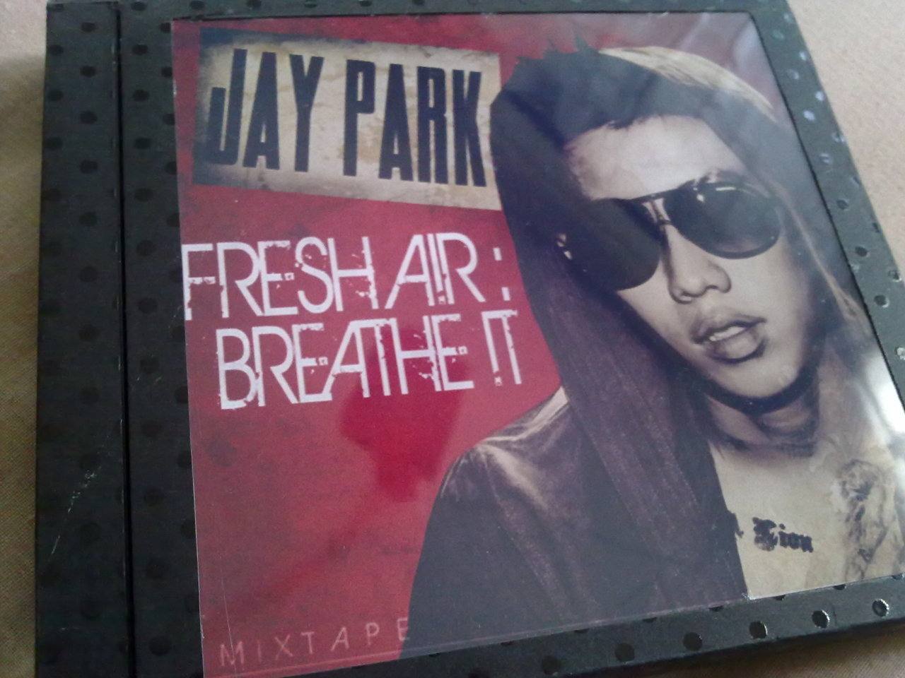 myelinatednewbreed:  home made fresh air breathe it album. xDDD  That's sooo awesome! I want to make one now too!
