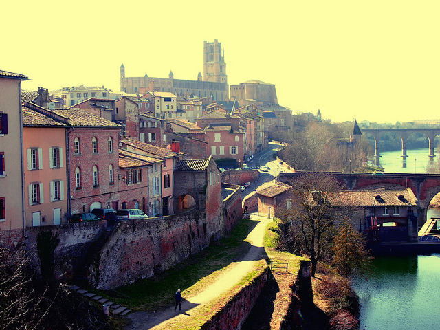 | ♕ |  {WHS} Albi, Sud France | by © Simin Fadillioglu | via ysvoice