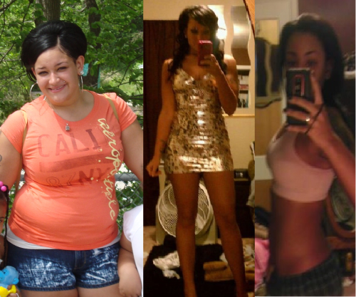 sweetthinspiration:  Hi! :) 212 before 150 after 5'7 Still going! —————— Amazingggggg!!!!!!!!!  So hard to believe that used to be you!! :D