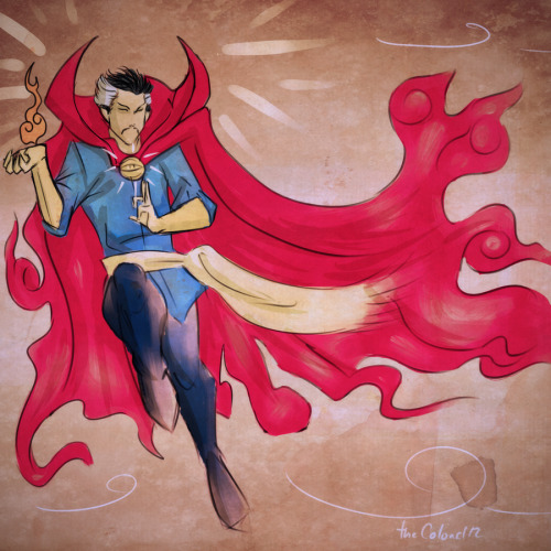 I want his movie :p  Doctor Strange 2 by *ColAutumnsOvercoat