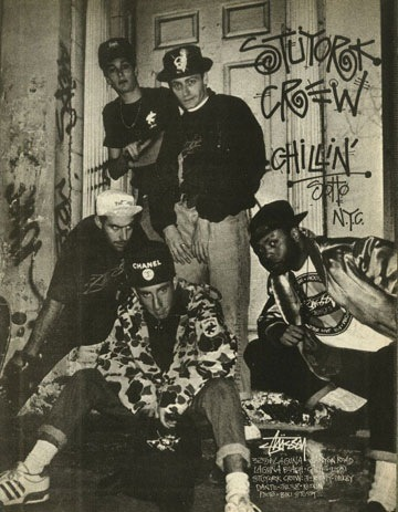 Old Skool @Stussy 'Rock da Block'