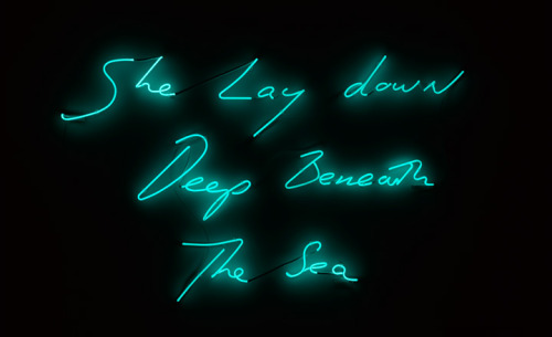 Tracey Emin exhibits new works at Turner Contemporary, Margate