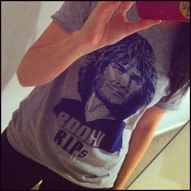 Yes my immense love for this film necessitated the purchase of this tee :) (Taken with instagram)