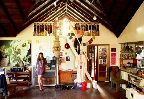 nestdreaming:  bohemianhomes: Bohemian Homes: Maximilla and Guy