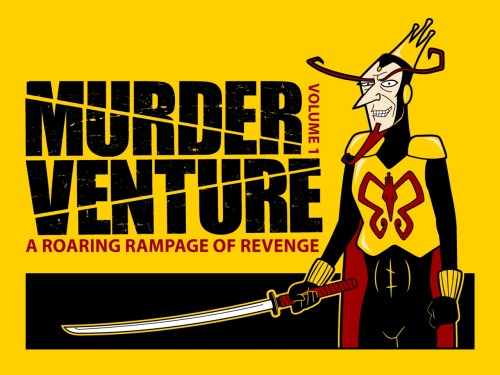 """Murder Venture"" for sale on as clothing and prints on Redbubble and Society6"