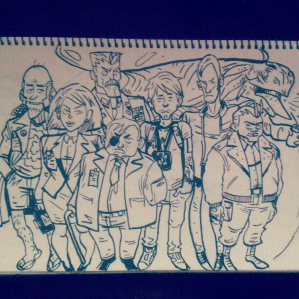 Some peeps that need redesigning. Blaaaah. (Taken with instagram)
