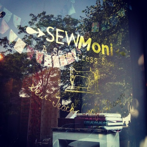 So proud of @sewmoni's beautiful shop! (Taken with instagram)