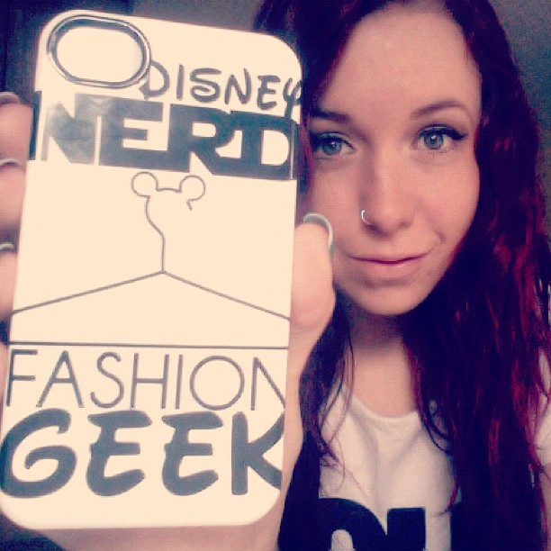 My DisneyBound iPhone case came in the mail!!! You can buy it in the DisneyBound shop - amongst many other cases and tees!