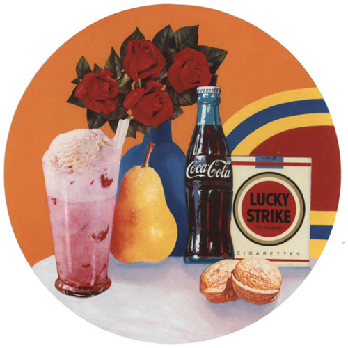 Still life #34 by Tom Wesselmann. Found here.