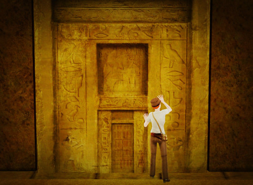 Let me in! Egypt, World Adventures, Sims 3