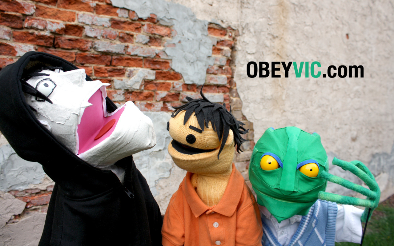 OBEY VIC Group Wallpaper Download: Widescreen