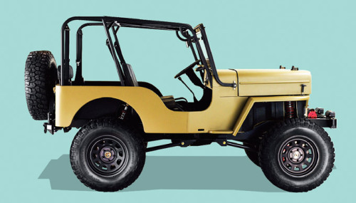 whereisthecoool:  Icon Motors Willys CJ3B
