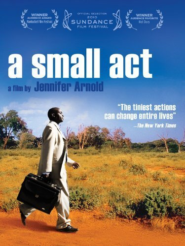 "Gail and I watched ""A Small Act"" this evening.  What a great film.  The movie perfectly captures the spirit of Your Mark on the World.   The movie is about a Swedish holocaust survivor, Hilde Back, who casually decided to sponsor a child in Kenya, and the boy she sponsored, Chris Mburu, who, created a foundation in her name to sponsor similarly situated kids. Chris grew up in a family without the means to keep him in primary school, but was highest scoring student in the district when he was in school.  With Hilde's sponsorship, he stayed in school, completing primary and secondary school, and graduated from college in Kenya.  He then completed a masters degree at Harvard.   He now works to prevent human rights abuses in his job working for the United Nations in Geneva, Switzerland. Along the way, he worked through the Swedish embassy in Kenya to find Hilda.  She was both shocked and thrilled to find her name on the new foundation.  Chris and HIlde have now built a close relationship."