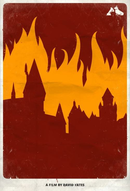 Harry Potter and the Deathly Hallows Part 2 - hmv Minimalist Film Poster To celebrate the Top 10 films - voted for by you - in the hmv Jubilee poll, our friends at MMK Media have created these minimalist posters featuring iconic images from each movie. We'll be posting two a day, each day this week. Here's our poster for the last in the Harry Potter series, Harry Potter and the Deathly Hallows Part 2 Let us know what you think, potter fans!