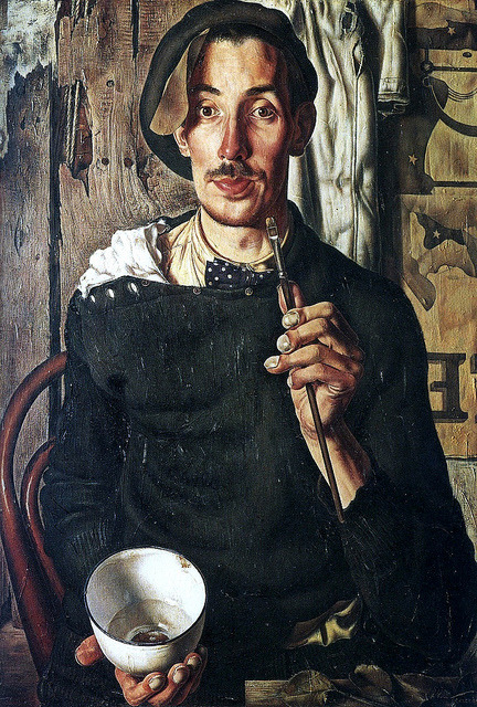 blastedheath:  Dick Ket (Dutch, 1902-1940) Zelfportret 1939. Oil on canvas.