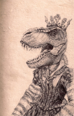 eatsleepdraw:  Mrs Lovington - 2012Black biro on Mulberry bark paper