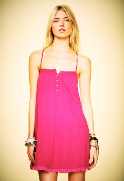 "Free People ""Her Comes the Sun"" Lookbook Model: Martha Hunt Photographer: Anthony Nocella"