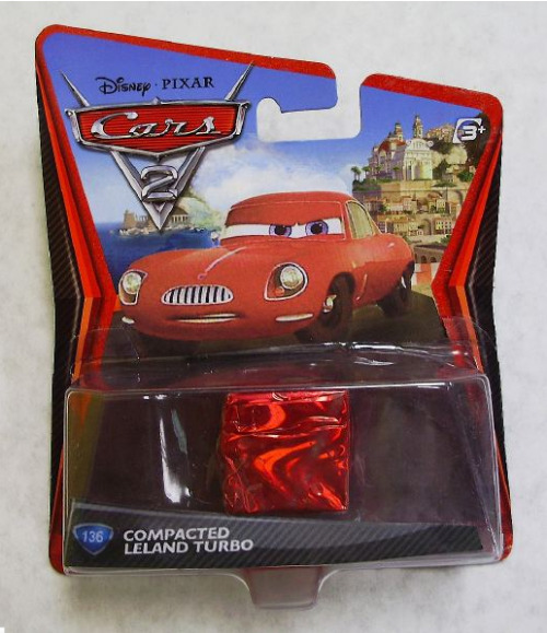 Via mrschickhicks: A fan-made custom Cars 2 toy similar to the charred Uncle Owen & Aunt Beru Star Wars figures. Pretty funny!