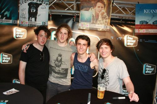 with the wombats YES