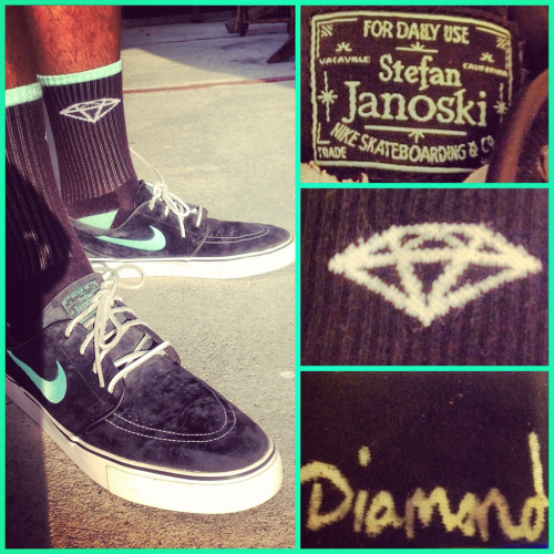 WDYWT  Diamond Supply X Janoskis