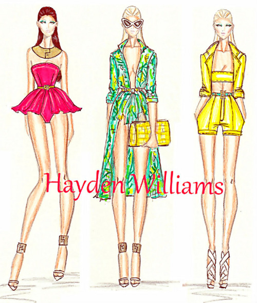 haydenwilliamsillustrations:  Hayden Williams Resort 2013 collection pt2