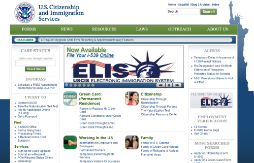 U.S. Citizenship and Immigration Service (USCIS) launched the first phase of its electronic immigration benefits system, known as USCIS ELIS. The system has been created to modernize the process for filing and adjudicating immigration benefits. This initial launch brings the agency closer to realizing the future of immigration services. Beginning May 22, 2012, individuals can establish a USCIS ELIS account and apply online to extend or change their nonimmigrant status for certain visa types. Eligible individuals include foreign citizens who travel to the United States temporarily to study, conduct business, receive medical treatment, or visit on vacation. USCIS ELIS will also enable USCIS officers to review and adjudicate online filings from multiple agency locations across the country.