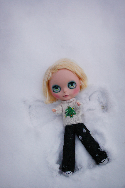 Snow Angel by Shannon_Taylor on Flickr.