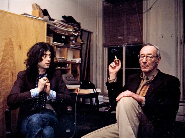 awesomepeoplehangingouttogether:  Jimmy Page and William S. Burroughs