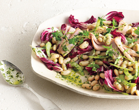 Yum! Making for dinner! White Bean and Tuna Salad with Radicchio via Bon Appetit & epicurious Once I try this - I will certainly provide a review! If you try it as well, please leave a comment :)