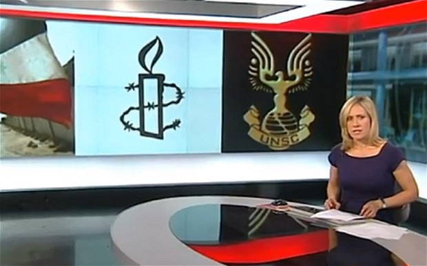 "BBC uses ""Halo"" videogame logo for United Nations Security Council symbol  (Telegraph)"