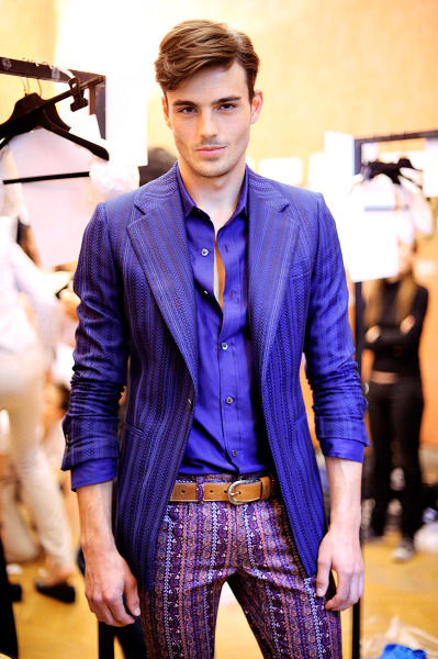 mancrushoftheday:  dedapuma:  Peter Badenhop | Roberto Cavalli S/S 2012 + MEN'S FASHION Follow Ðedä Pümå on Twitter @dedapumico and Become Fan on Facebook.  Visit The Man Crush Blog | Twitter | Facebook | Google+