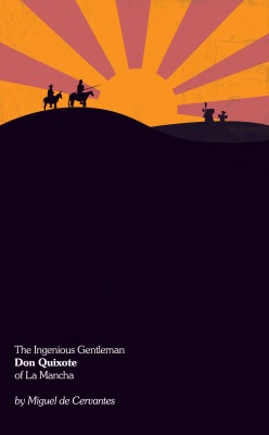 The Ingenious Gentleman Don Quixote of La Mancha  by Miguel de Cervantes Book Cover Re-Design #13 Cited as the first traditional novel ever written. There was a weird digital hiccup where the colors got messed up, should be fixed now. viva la Sanch Panaza! Buy the high quality art print over at Society6.