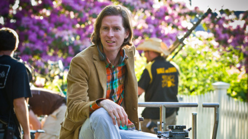 "nprfreshair:  Today: Wes Anderson on Fresh Air: ""I have a way of filming things and staging them and designing sets. There were times when I thought I should change my approach, but in fact, this is what I like to do. It's sort of like my handwriting as a movie director. And somewhere along the way, I think I've made the decision: I'm going to write in my own handwriting. That's just sort of my way."" (via Wes Anderson, Creating A Singular 'Kingdom' : NPR)  Always do you."