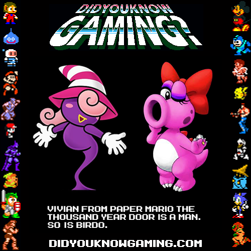 didyouknowgaming:  Paper Mario The Thousand Year Door.