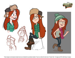"joedrawsstuff:  Character development for Wendy on ""Gravity Falls""  :DDD"