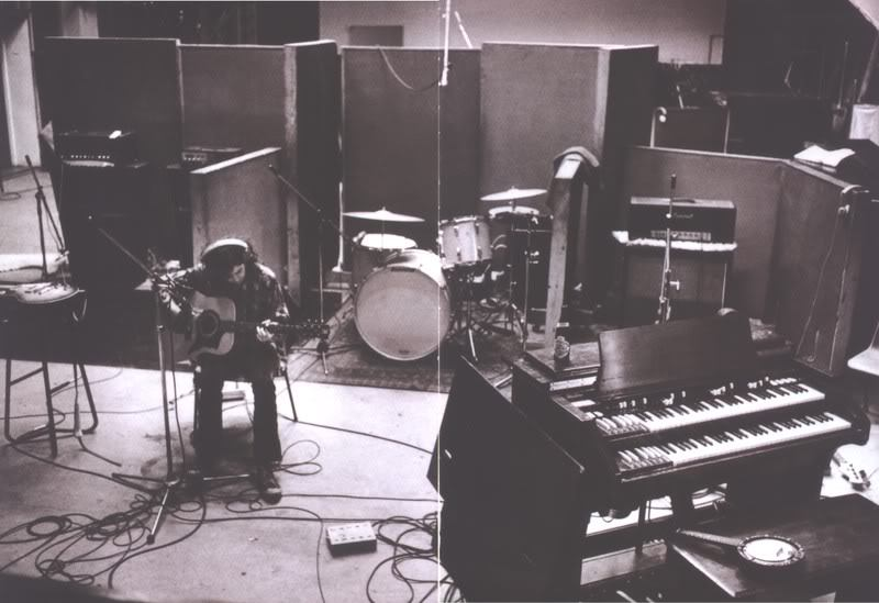 Sessions for Led Zeppelin II at Olympic Studios, London.
