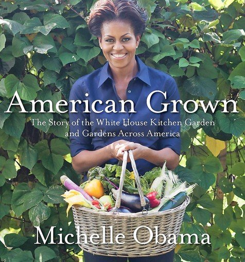 Every so often, a flash of Michelle Obama's humor comes through in her otherwise serious book about the White House garden and her campaign against childhood obesity…  more. also: proceeds from book go here.