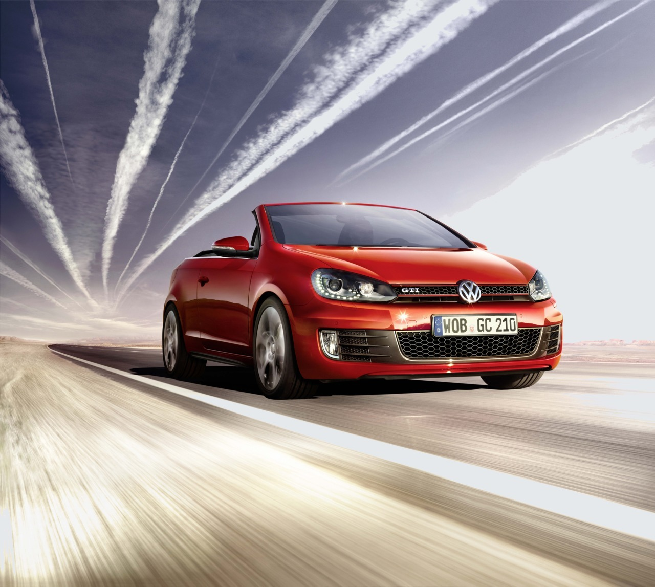 "facesar:  Alex Rank realized the VOLKSWAGEN Golf GTI cabriolet campaign ""The shadow follows. As best he can."".Art Direction: BEHNAZ PAKRAVESH. Agency: DDB TRIBAL Berlin. Production: SEAQUIST A COMPANY.  To see more of Alex' work, please go to http://www.facesar.com/artists/alex-rank.html"
