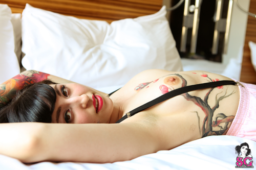 tit-tats:  fuckyeah-suicide-girls:  BelleBane Suicide Click here for more Suicide Girls  http://tit-tats.tumblr.com/