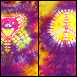 I just put this one in the shop. #love #hippie #psychedelic #trippy #instaretro #statigram #igmasters #igers #hippie #tashsebastian #tiedye #gratefuldead #peace #peacesign #dancingbear  (Taken with instagram)