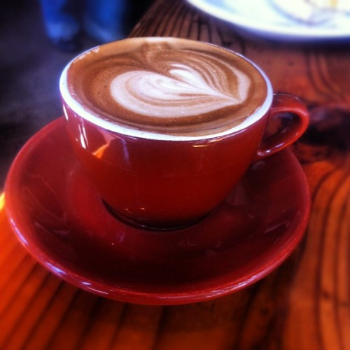 Coffee.  (Taken with Instagram at The Creamery)