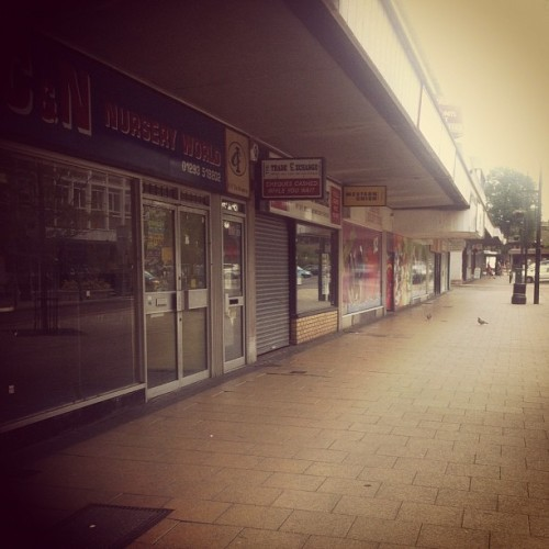 Crawley #recession. Streets full of closed shops.  (Taken with instagram)