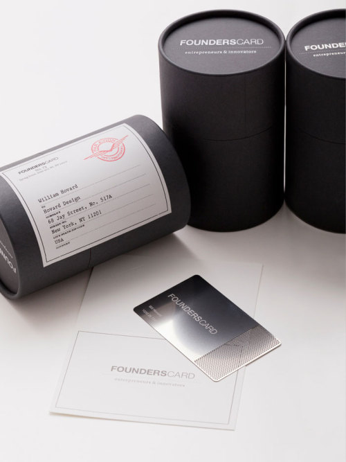 Founderscard Membership Card Packaging