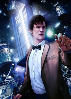 "bbcamerica:  ""Doctor Who,"" ""Community,"" and Cult TV Fans : The New Yorker  Emily Nussbaum says: Cult shows, such as ""Doctor Who"" and ""Community,"" often have this quality: they shrug off the condescension that people have toward their ""lower"" genres, using their constraints to find a greater freedom. When you look at a show like that from a distance, it might seem too narrow to contain much of interest. But it's so much larger when you're on the inside."