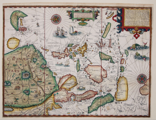 dormauz:  Linschoten map of Asia and Indonesia