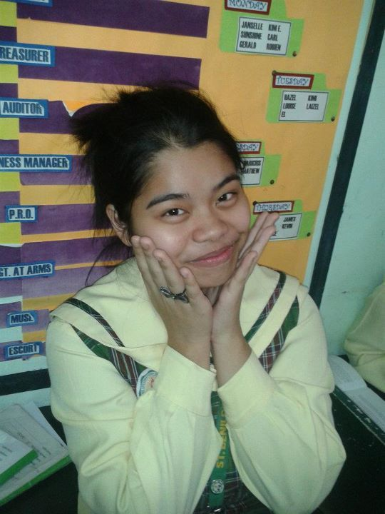highschool days. Junior ata ako neto. ang panget e! hahaha.