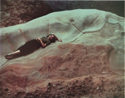 anhelos:  Edward Weston,Dody, Point Lobos, 1947, Ektachrome