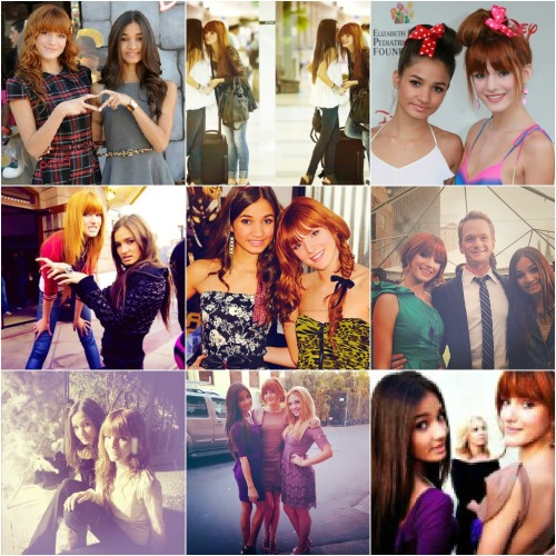truthfulwishes:  bella thorne & pia mia collage.